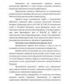 Отчет по практике в администрации муниципального образования   zoom