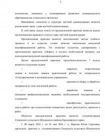 Отчет по практике администрация сельсовета 8864
